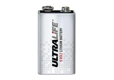 Ultralife-9 volt battery
