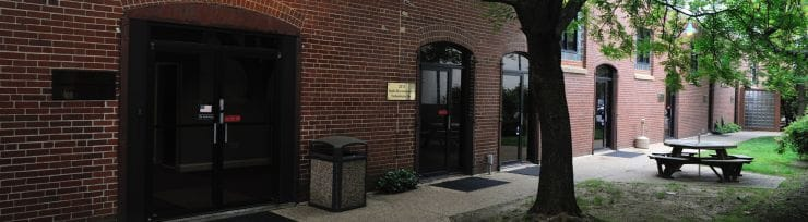 picture of exterior entrance